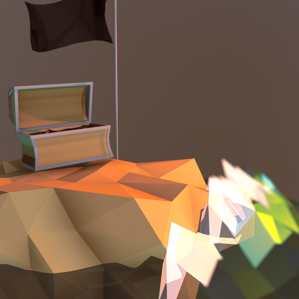 Low Poly Treasure